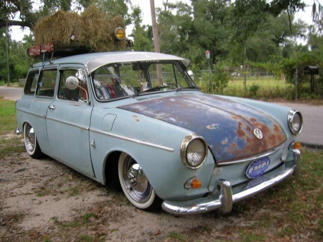 VW Squareback rat rod | Vw | Vehicles, Volkswagen type 3