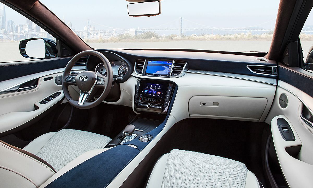 New 2018 Infiniti Qx50 New Interior Car Review