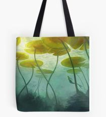 Sea Lilly Tote Bag