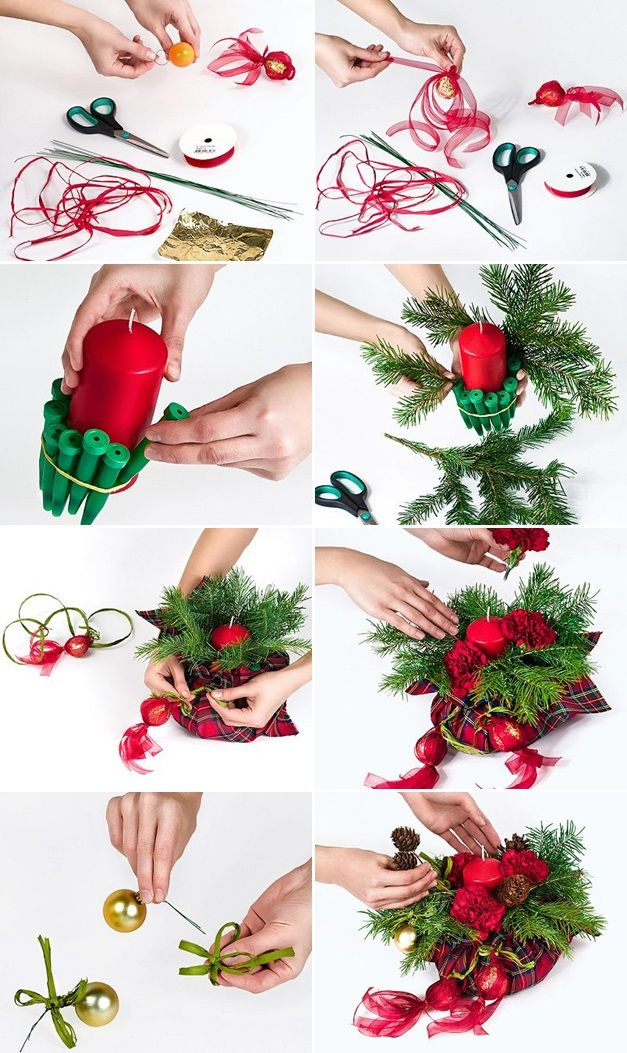 Ideas For Christmas Crafts Homemade Part - 31: 10 Homemade Christmas Gift Ideas - Easy DIY Projects For Every Taste