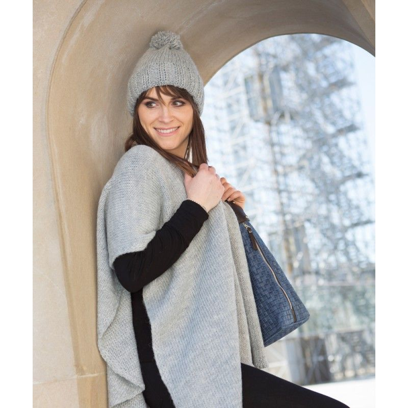 Poncho Camille Argent