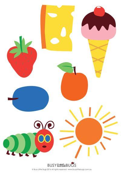 Freebie Friday - The Hungry Caterpillar Playdough Set – Busy Little Bugs