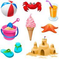 stock-illustration-20537977-summer-beach-elements-set.jpg (190×190)
