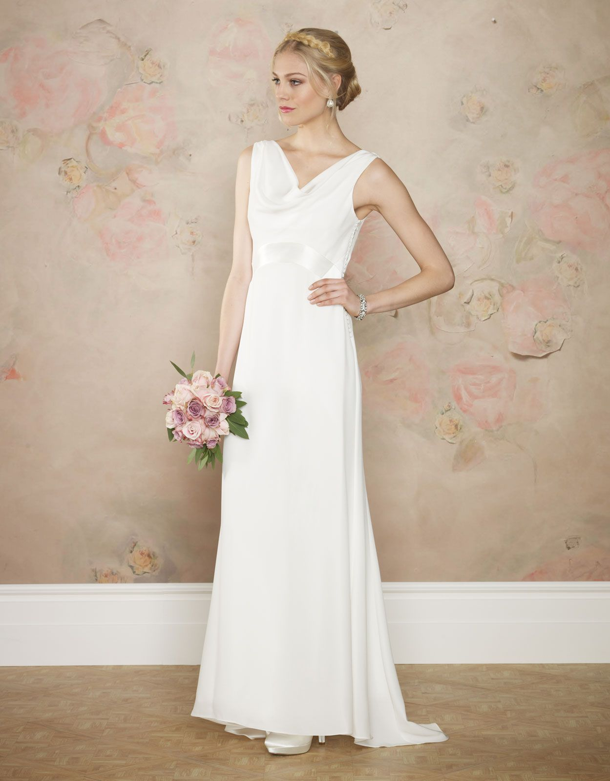 Nina Bridal Dress White Monsoon