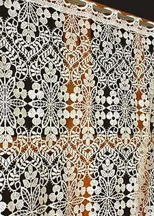 An Excellent Range Of High Quality Macrame Lace Curtains Available In  Custom Sizes.