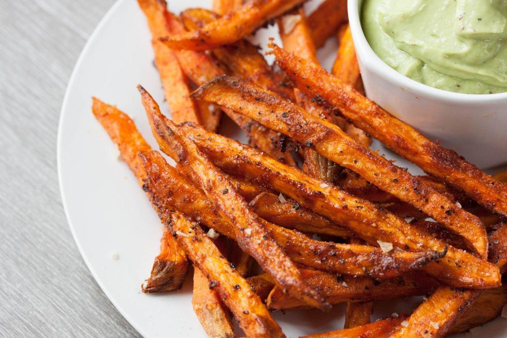 Crispy Sweet Potato Fries Recipe Oven