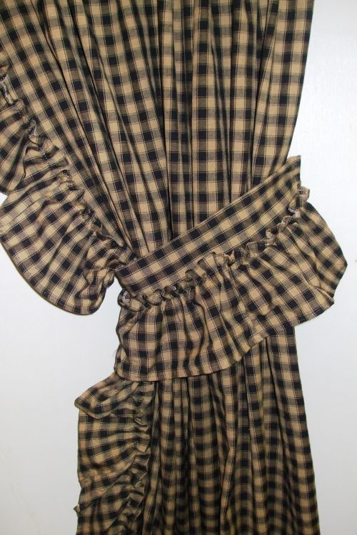 Country Ruffled Curtains Country Curtains Primitive