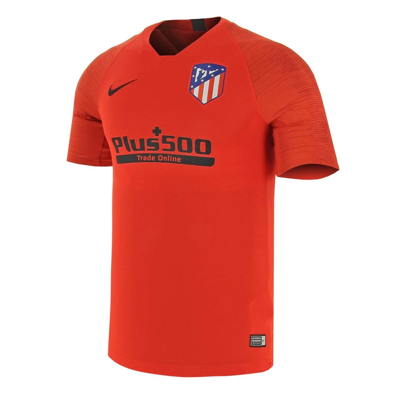 Camiseta Nike Atlético Entreno Strike 2019 2020 Camiseta Atletico De Madrid Camisetas De Equipo Camisetas Deportivas