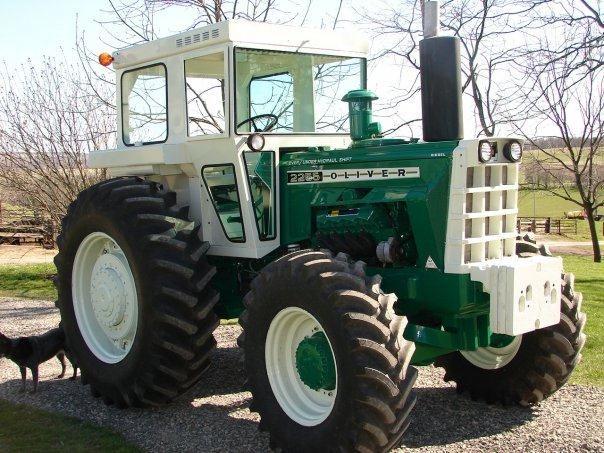 Oliver 1950 4x4 : Oliver tractor farm cat caterpillar tractors