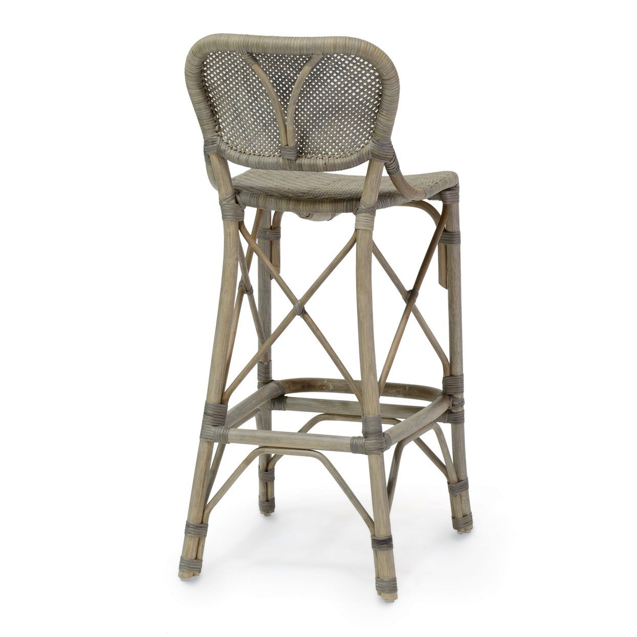 Luxury Wicker and Rattan Bar Stools