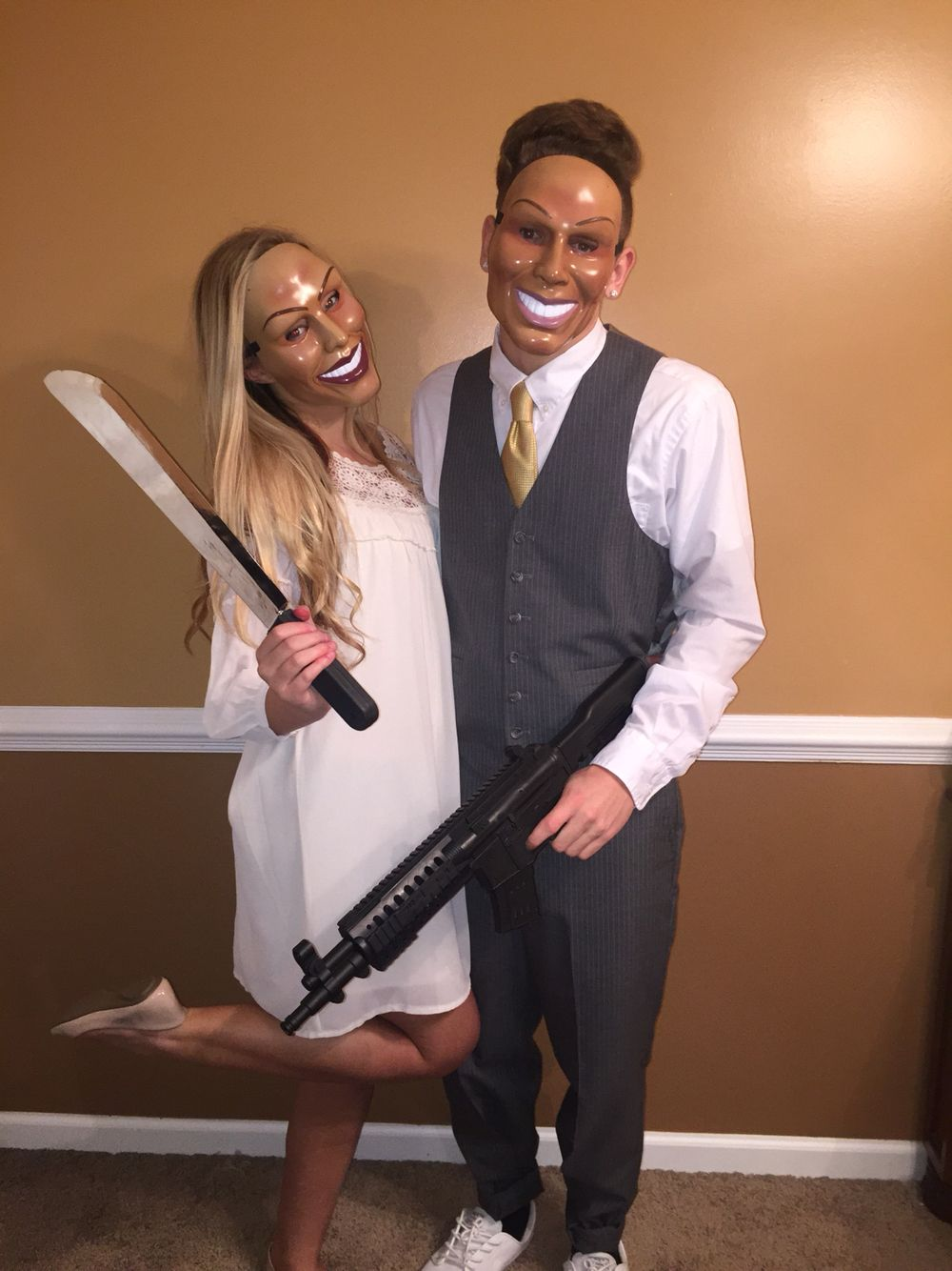 The Purge couple costume #thepurge #couplecostume @ryliston ...