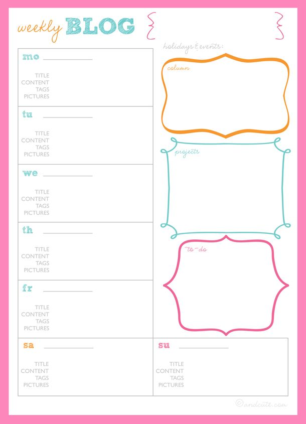 photo relating to Blog Planner Template identified as Buy Geared up: Weblog Planner Printables Running a blog Web site
