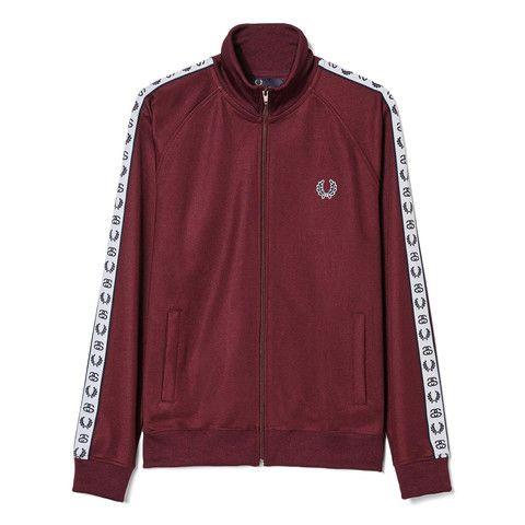 7af08f5a2 Fred Perry x Stüssy Track Jacket | mens fashion in 2019 | Jackets ...