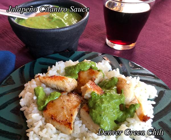 Jalapeño Cilantro Sauce #cilantrosauce