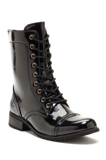 Carrini Lace Up Short Combat Boot Wear Pinterest Combat Boots