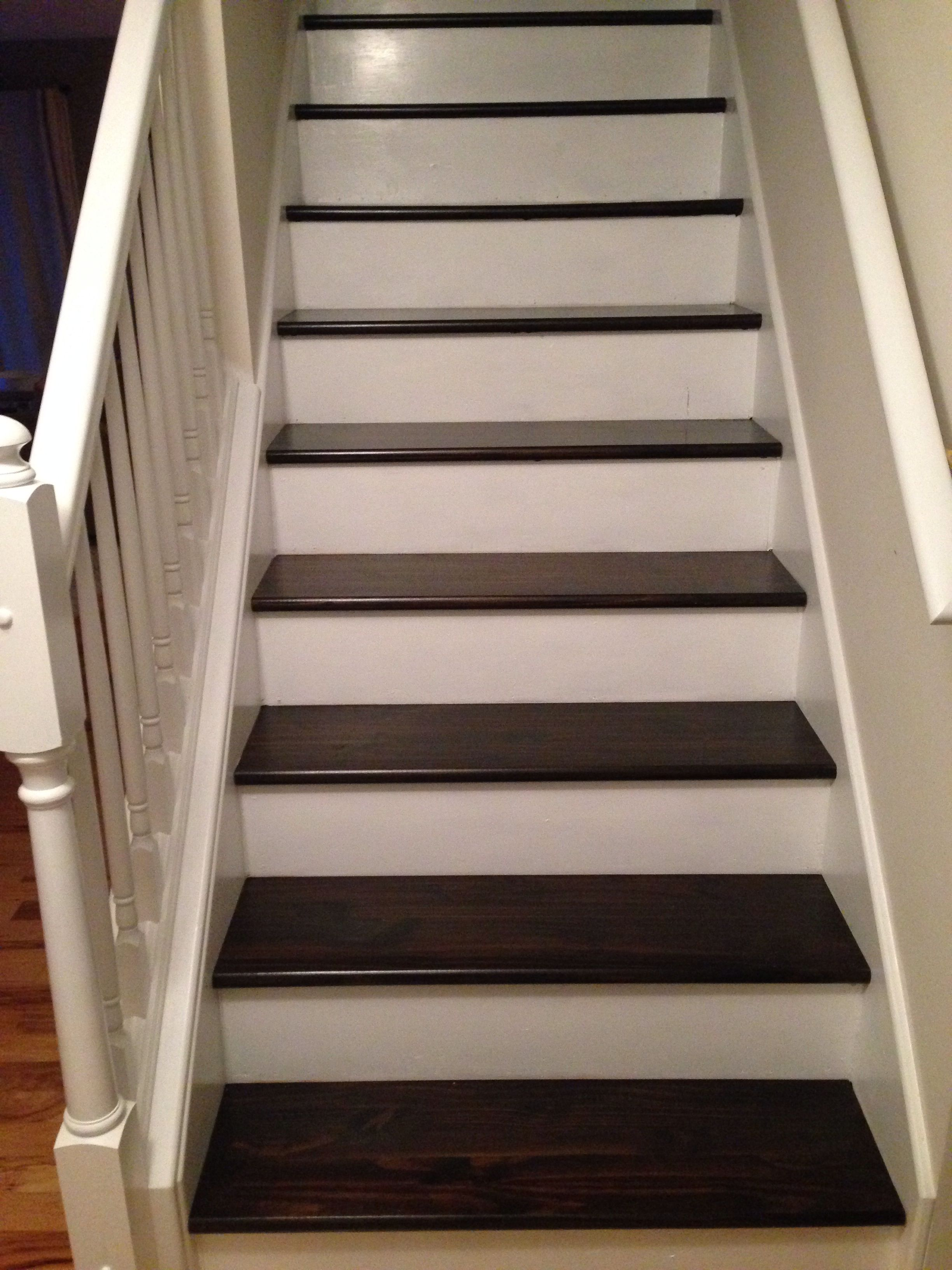 Stair makeover For the Home Pinterest