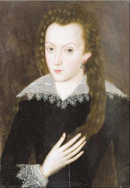 This is Anne Hathaway, the wife of William Shakespeare ...