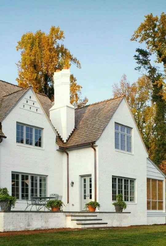 White Stucco Homes white stucco tan gray cedar shingles siding mixture | exterior