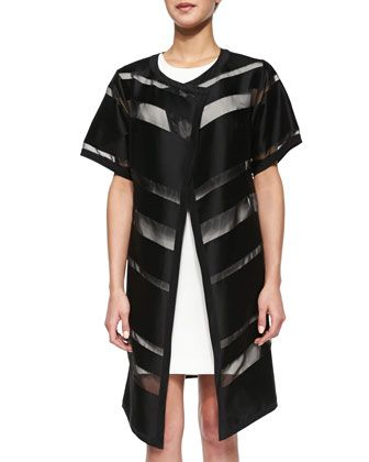 Striped Fil Coupe Open Topper by Milly at Neiman Marcus Last Call ... 5794056043c39