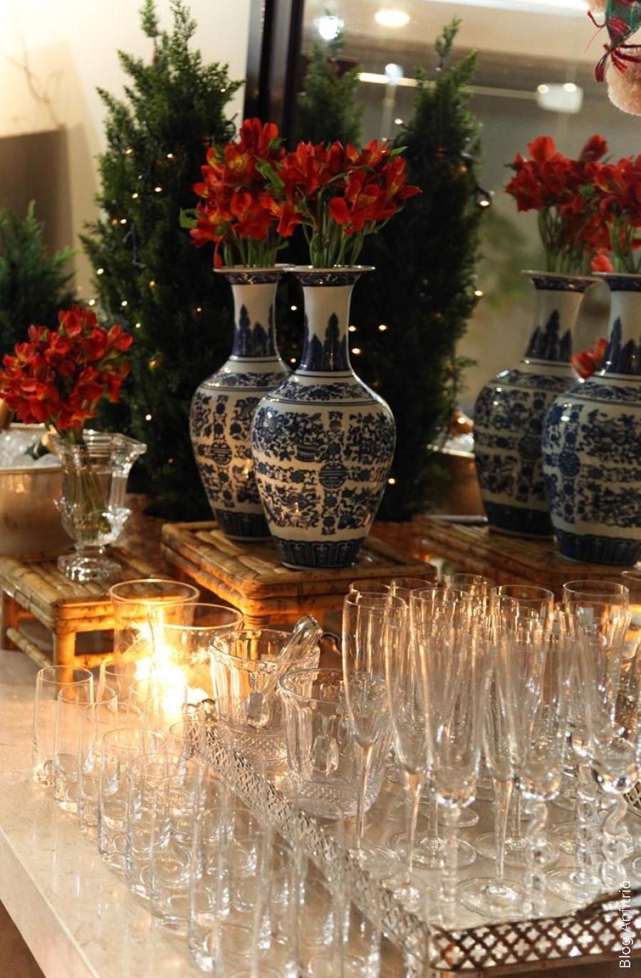RECEBER EM CASA NO NATAL   Anfitriã como receber em casa, receber, decoração, festas, decoração de sala, mesas decoradas, enxoval, nosso fil...
