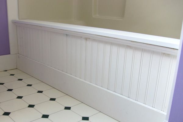 Putting a Fresh Face on Your Old Tub | Tubs, Decorative mouldings ...