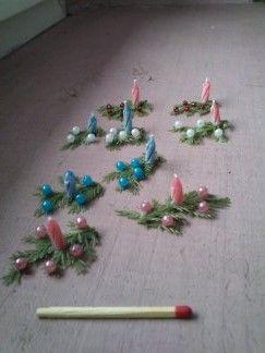Miniaturowe stroiki świąteczne