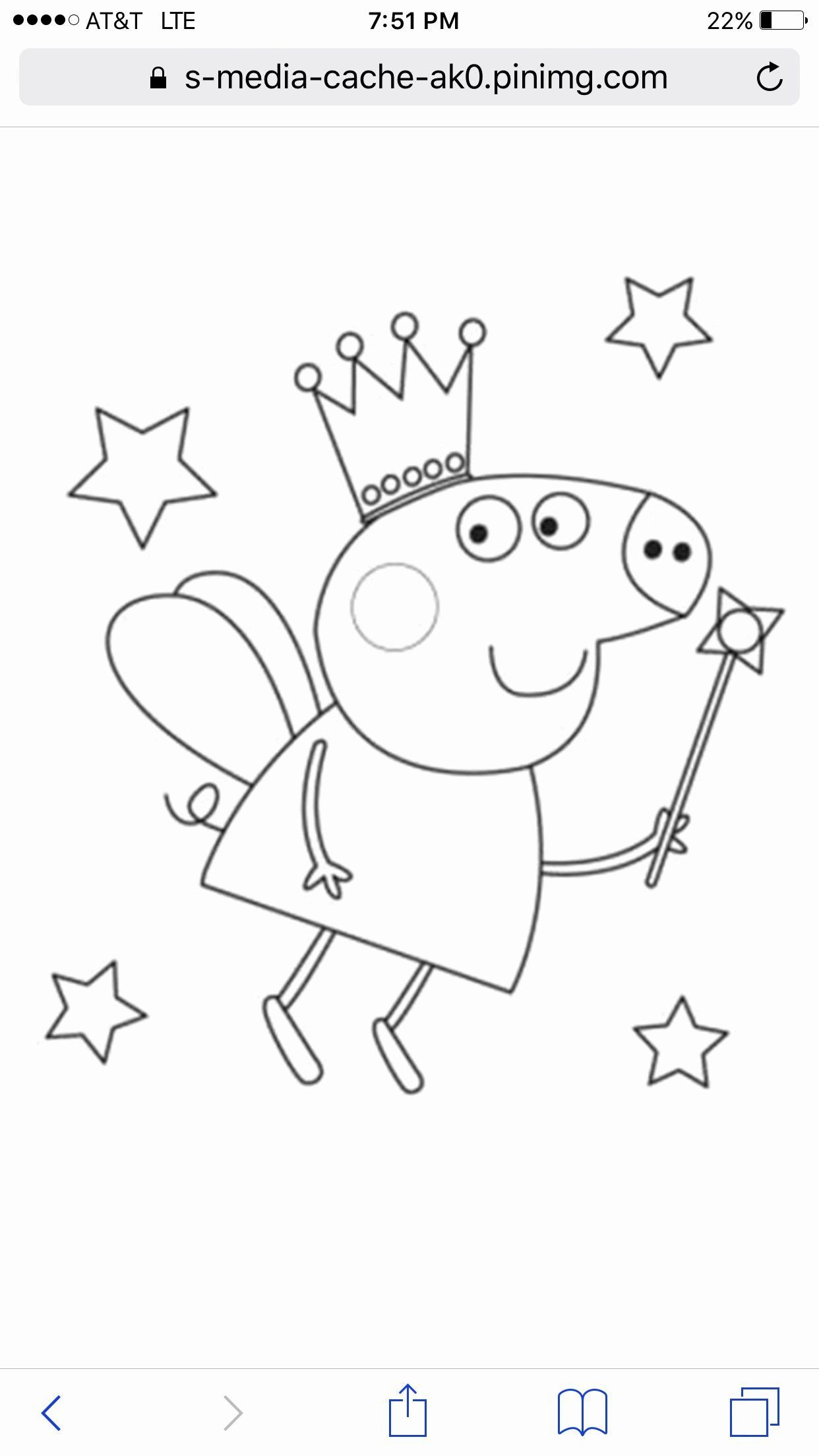 Peppa Pig Coloring Book Fresh Coloring Pages Coloring Pin