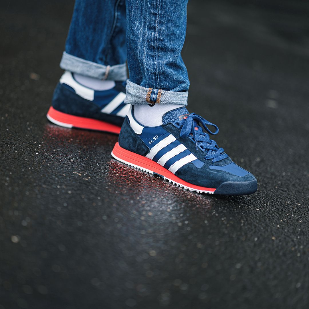 Adidas Originals Sl 80 In Blau Fv4415 Everysize In 2020 Adidas Sneaker Sneaker Adidas