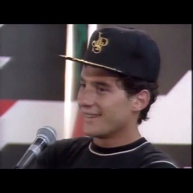 Ayrton Senna talking about his pole lap for the 1985 Australian GP.