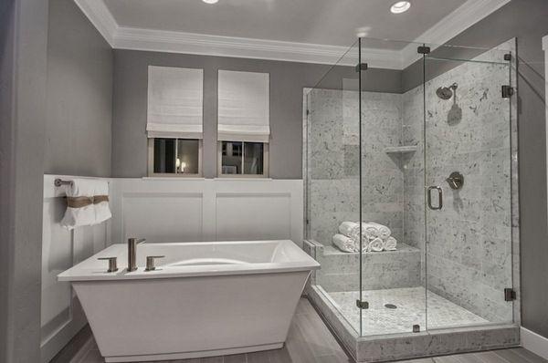 25 Modern Bathrooms To Create A Clean Look Decor10 Blog Bathroom Shower Walls Bathroom Design Bathrooms Remodel