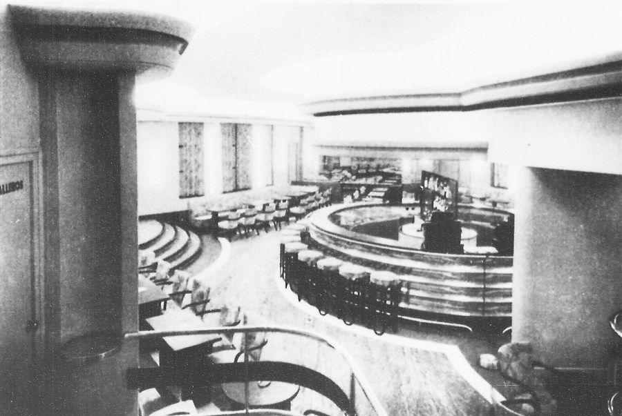 1933 ,Bar Americano edificio Capitol/Carrion.