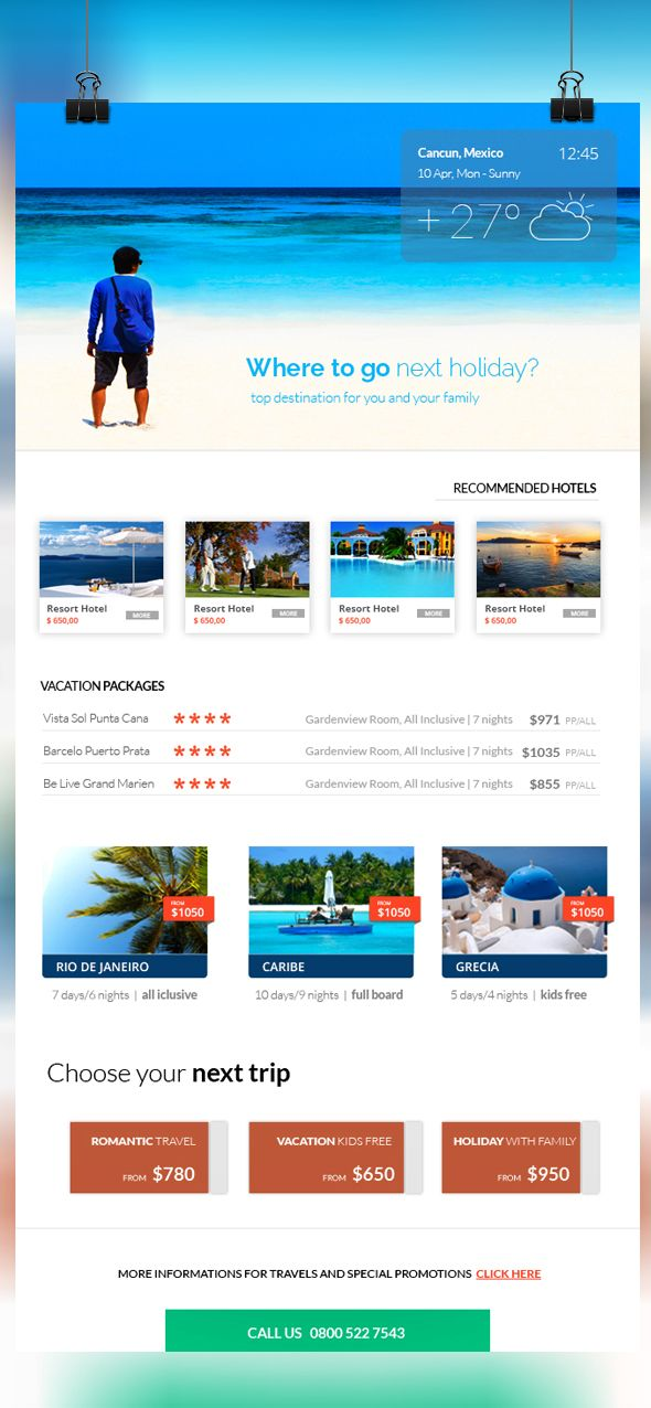 Travel ENewsletter Template HttpGraphicriverNetItemTravel