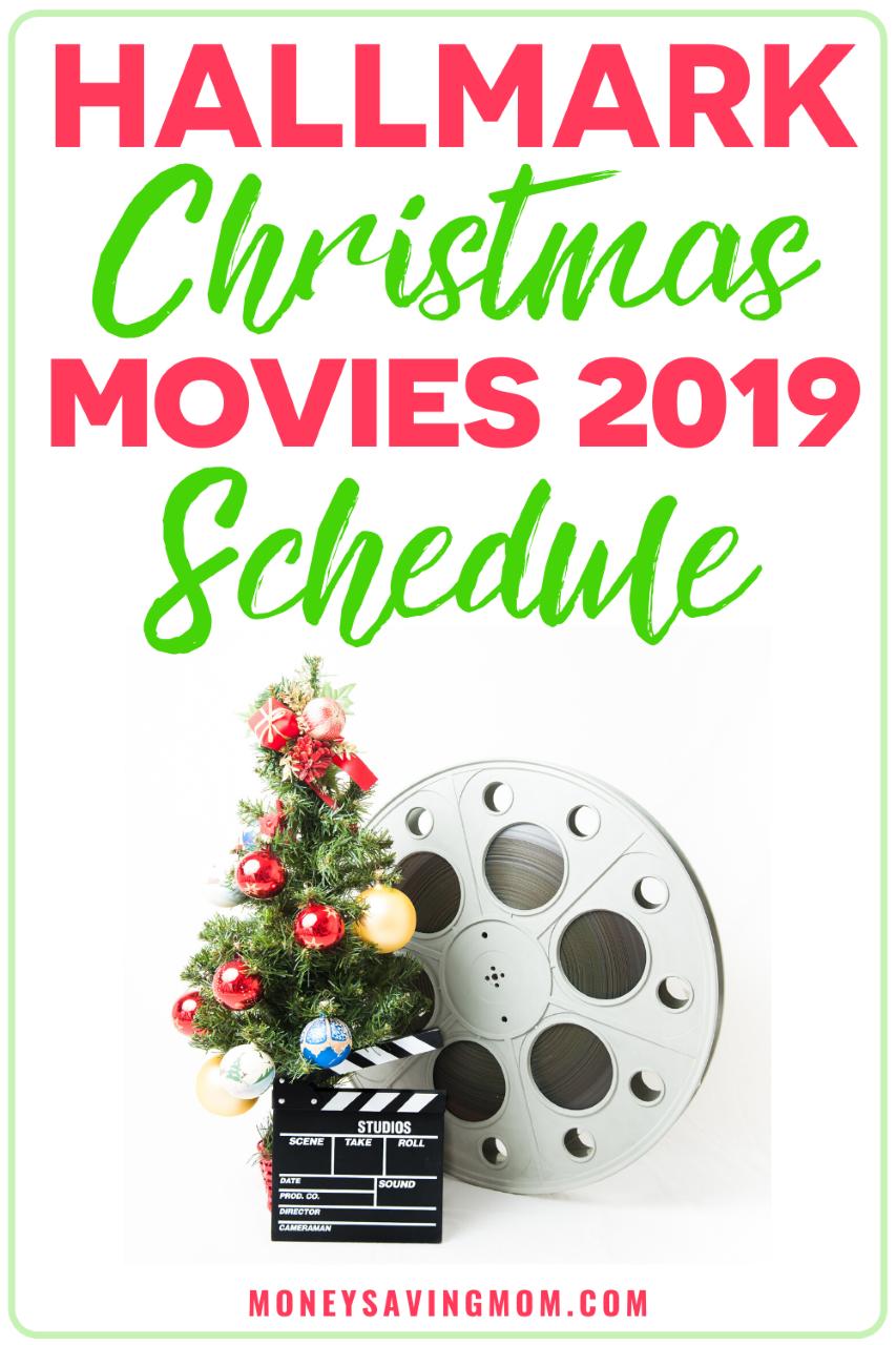 Hallmark Christmas Movies 2019 Schedule Hallmark Christmas Movies Christmas Movies Hallmark Christmas