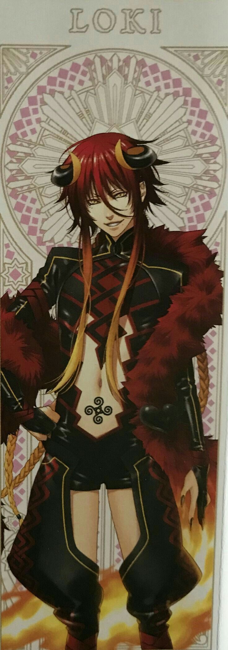 Loki Laevatein, God form, Kamigami No Asobi   STUFF FOR STORIES ...