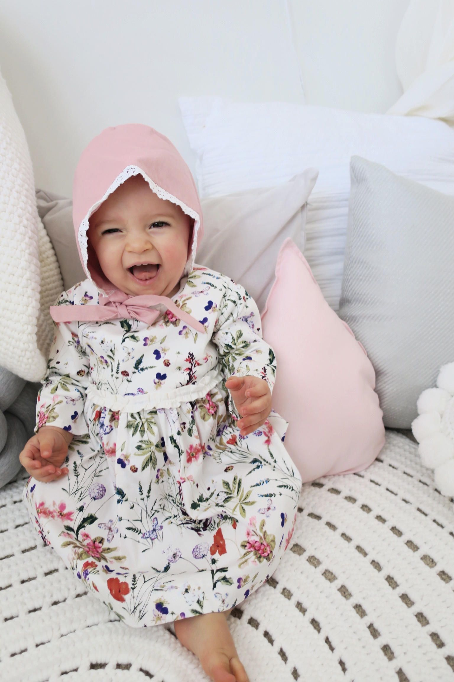 Winter Dress Girl clothes Dress Floral dress Clothes girl Baby
