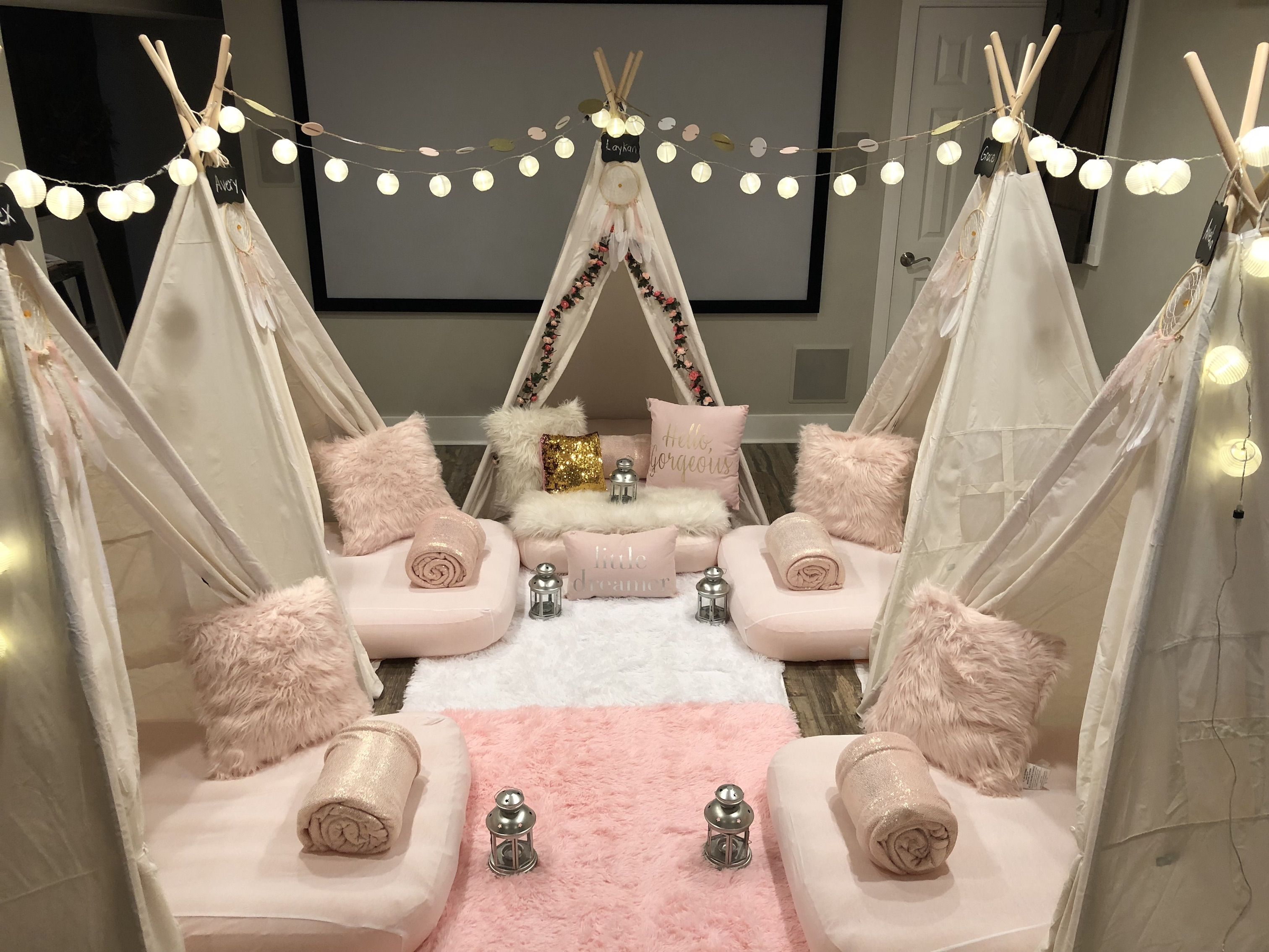 Dream Catcher Theme Check Out All Of Our Sleepover Tent