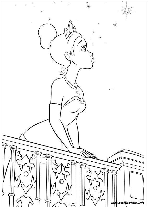 Küss den Frosch malvorlagen | Disney The Princess and the Frog ...