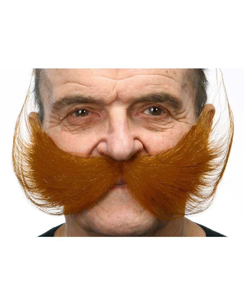 Schnauzbart Schnauzer Bart Oberlippenbart Schnurrbart Fasching Kostüm Zubehör
