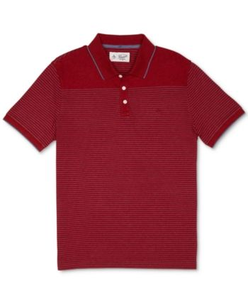 6608ae7470 Men's Yarn-Dyed Feeder-Stripe Polo in 2019 | Products | Polo, Mens ...