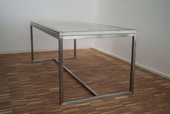 konferenztisch schreibtisch esstisch beton und von labor117 living esstisch tisch und. Black Bedroom Furniture Sets. Home Design Ideas