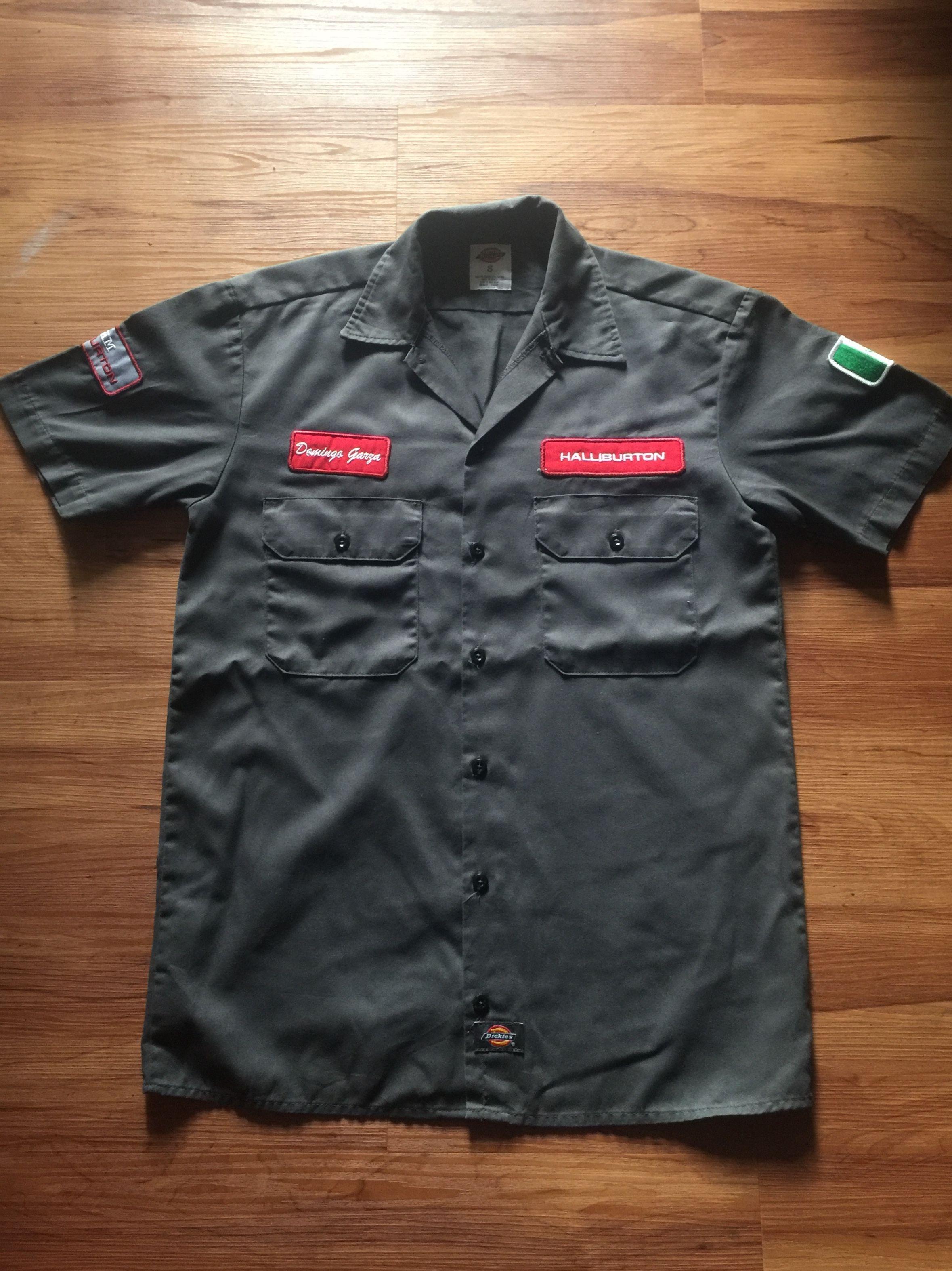8a8bb1a99 Dickies work shirts x Halliburton / small size | Sale | Work shirts ...