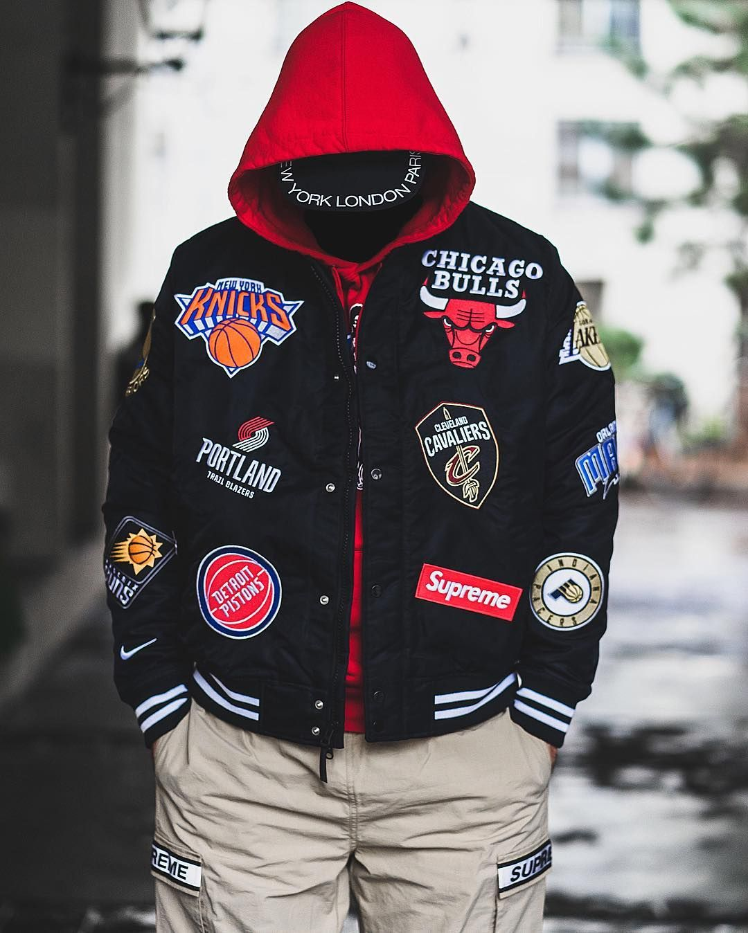 c1aa8a5db Supreme x Nike NBA Teams Warm Up Jacket