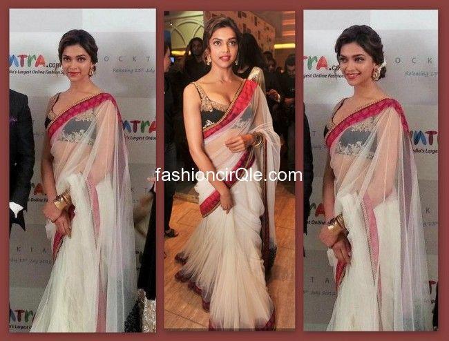 Style Talk : Deepika Padukone in Sabyasachi : Lame or Fame ...