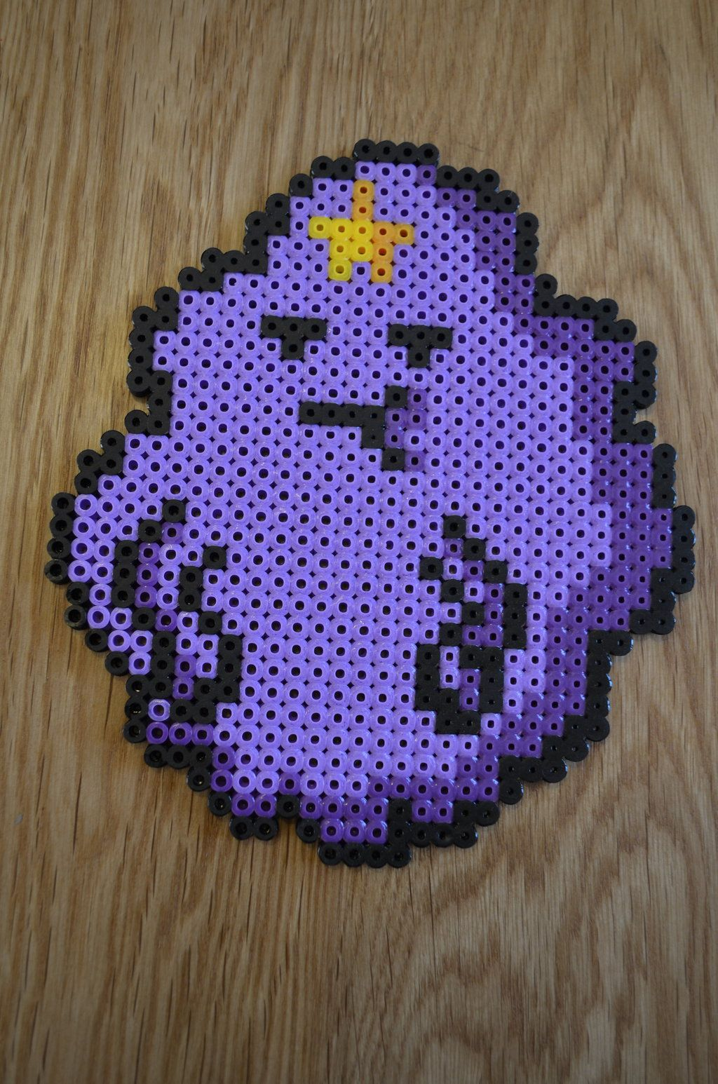 Lumpy Space Princess Hama Beads by sophiemai on deviantart
