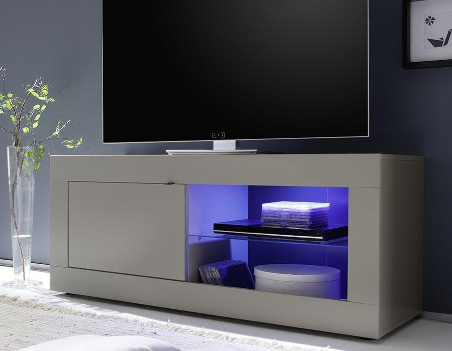 Petit Meuble Tv Design Taupe Lobby 2 Meuble Tv Design Meuble Tv