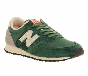 Buy Online New Balance 420 Trainers Unisex Green Grey Beige ...
