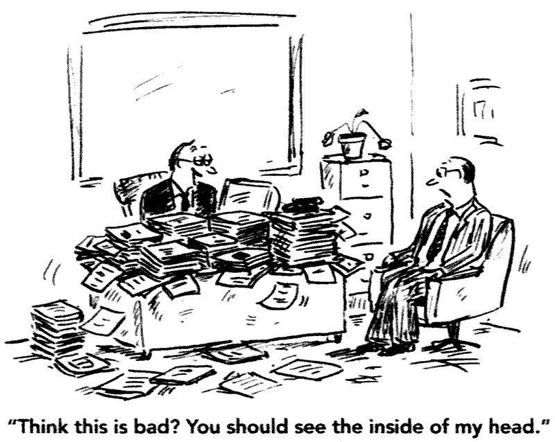 Messy Desk Career Humor Messy Desk Office Cartoon Office Humor