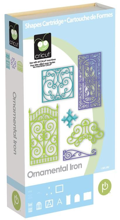 Cricut® Ornamental Iron Cartridge frame also used this cartridge, no
