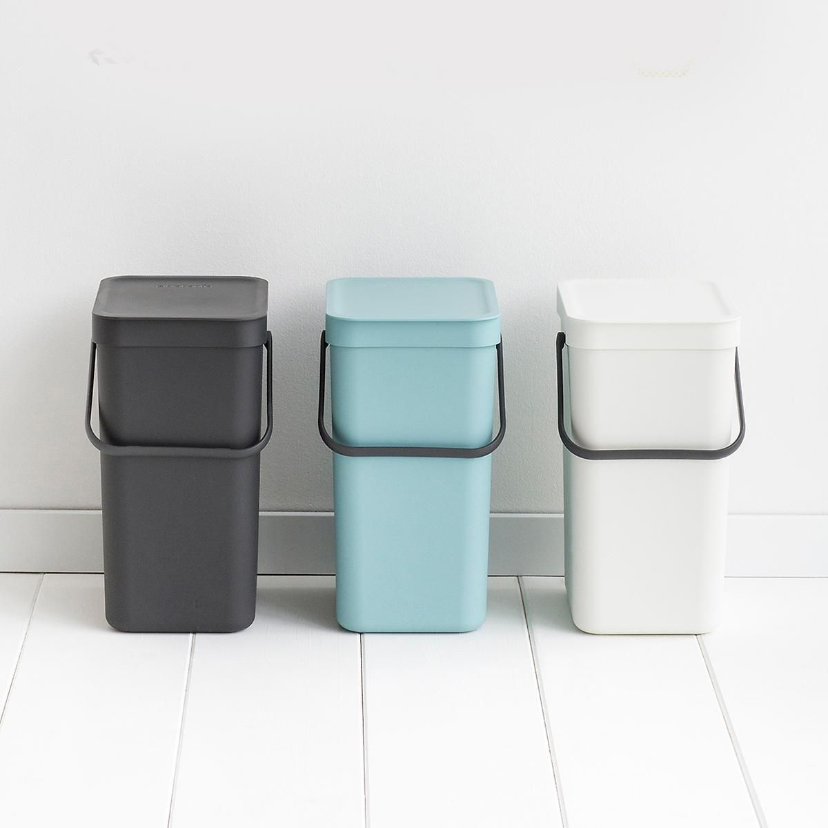 Brabantia 378706 Touch Bin 50 Liter Fingerprint Proof Waste Bin Brushed Stainless Steel For Only 115 85 You S Brabantia Recycle Trash Trash And Recycling Bin