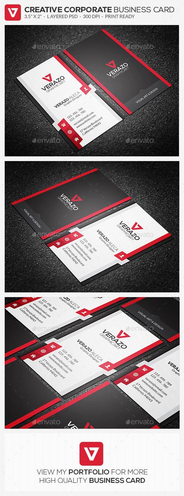 Creative Corporate Business Card 73 Modern Business Cards Printing Business Cards Business Cards Creative